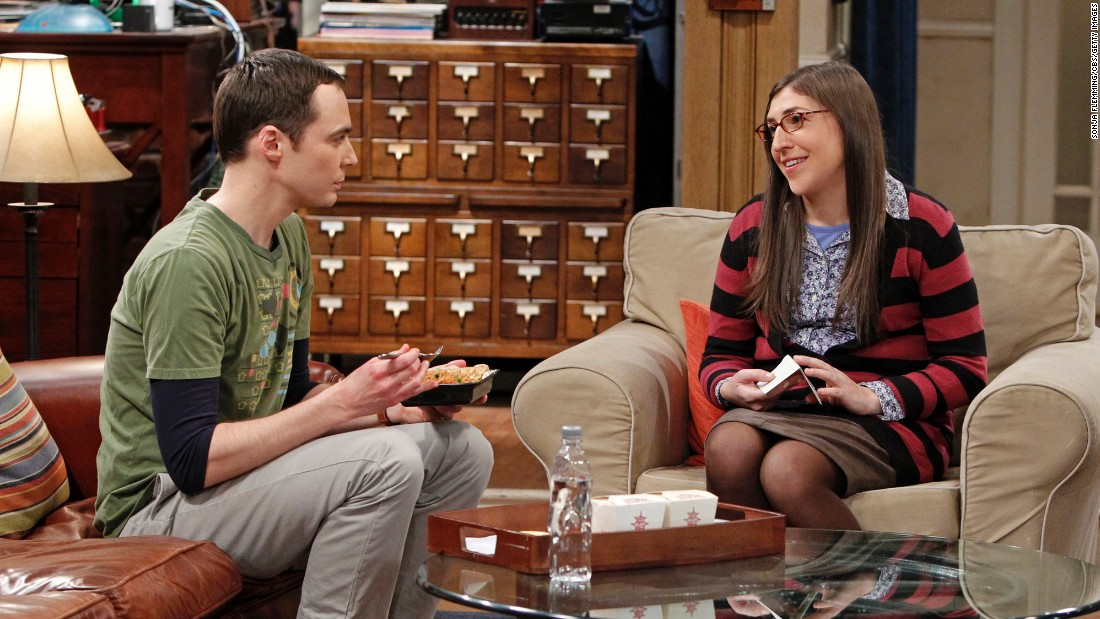 "It was love at first sight for viewers of ""The Big Bang Theory"" when Sheldon Cooper (Jim Parsons) met the equally geeky, slightly more adventurous Amy Farrah Fowler (Mayim Bialik) via an online dating site."