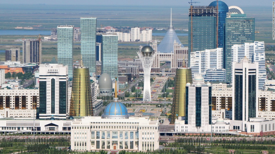 The city has become home to numerous ambitious building projects since it became the former Soviet Republic's capital in 1997.