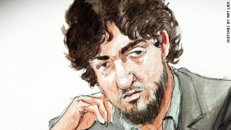 Boston bomber breaks his silence