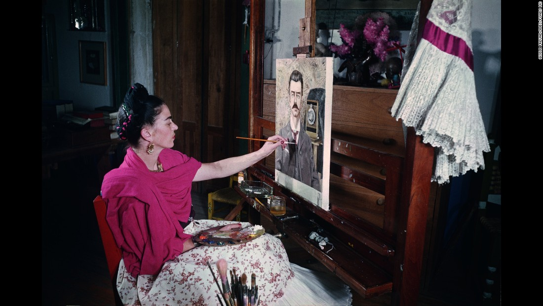 At Home With Frida Kahlo