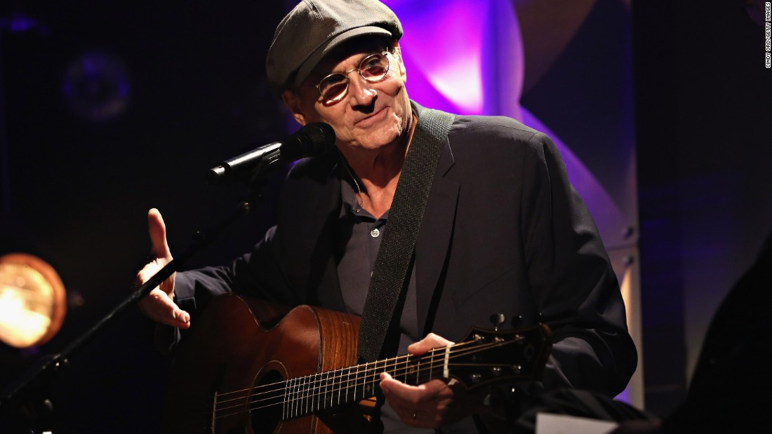 """James Taylor just notched his first Billboard No. 1 album, """"Before This World"""" -- after 47 years of releases. That's so long ago, the first one was on vinyl."""