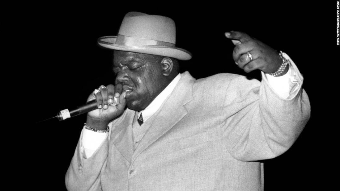 """The Notorious B.I.G., who died in 1997, was also snubbed by the Grammys. Despite four nominations -- including three related to his """"Life After Death"""" album, the top CD of 1997 -- he received zero."""