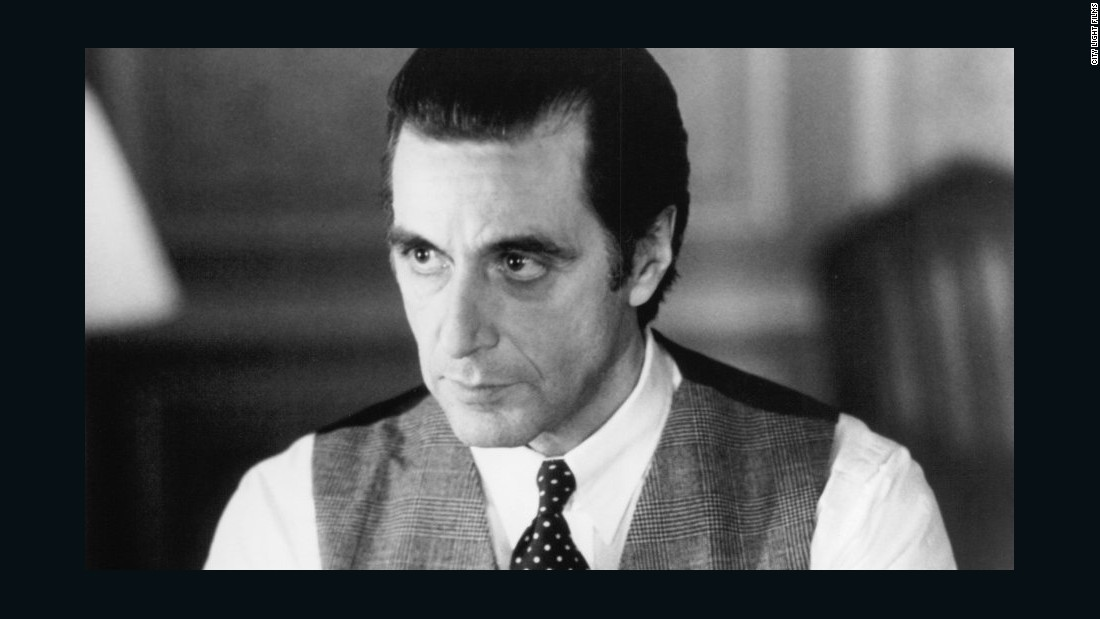 """Widely considered one of America's best actors, it wasn't until 1993, on his seventh try, that Al Pacino won best actor for """"Scent of a Woman."""""""