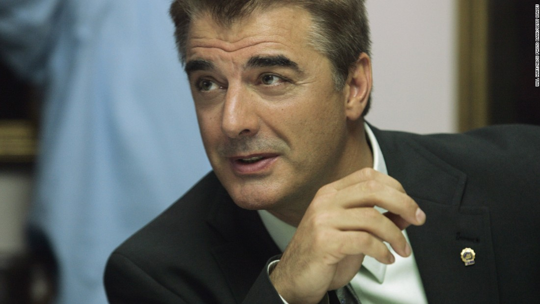 """Chris Noth has been nominated 10 times for Golden Globes, SAG Awards and other recognition, for work on """"Sex and the City"""" and """"Law & Order,"""" but has yet to win."""