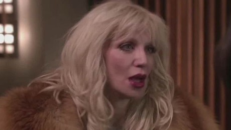 Singer Courtney Love: I was held hostage for an hour