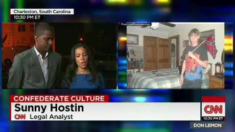 charleston funerals racism confederate flag defender bakari sellers sunny hostin pat hines cnn tonight_00005424