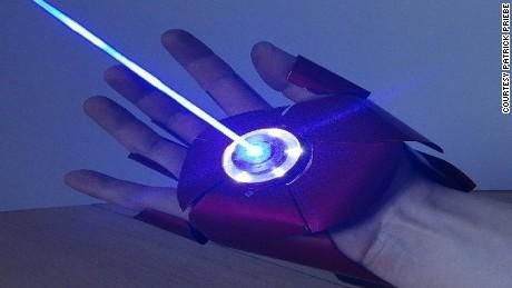 Movie buff creates real-life Iron Man glove - CNN.com