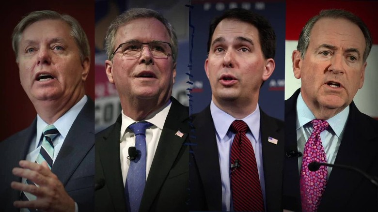 Same-sex marriage ruling divides some GOP candidates