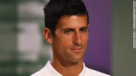 Novak Djokovic came under scrutiny for comments made by his coach Boris Becker about on-court coaching.