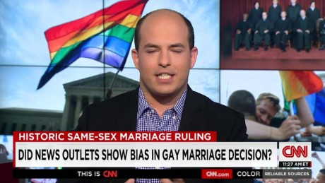 Did news outlets show bias in gay marriage coverage?
