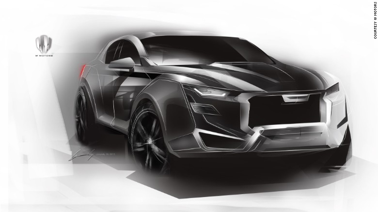 W Motors' forthcoming, so-far unnamed SUV project