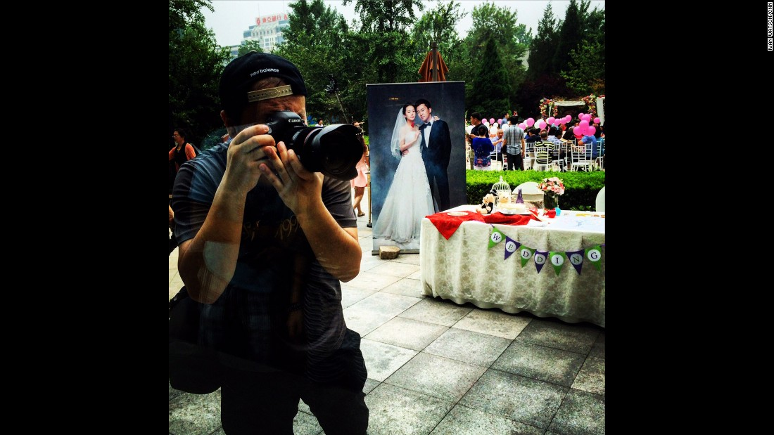 "CHINA: ""Chinese wedding photographer waits for the bride."" - CNN's Ivan Watson.<br />Follow <a href=""http://instagram.com/ivancnn"" target=""_blank"">@ivancnn</a> and other CNNers on the <a href=""http://instagram.com/cnnscenes"" target=""_blank"">@cnnscenes</a> gallery on Instagram for more images you don't always see on news reports from our teams around the world."