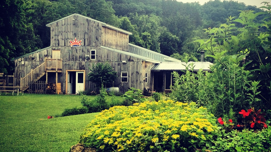 """The experience of eating outdoors on the farm amongst our gardens in the valley is just as important as the food itself,"" says Suncrest Gardens owner, Heather Secrist."