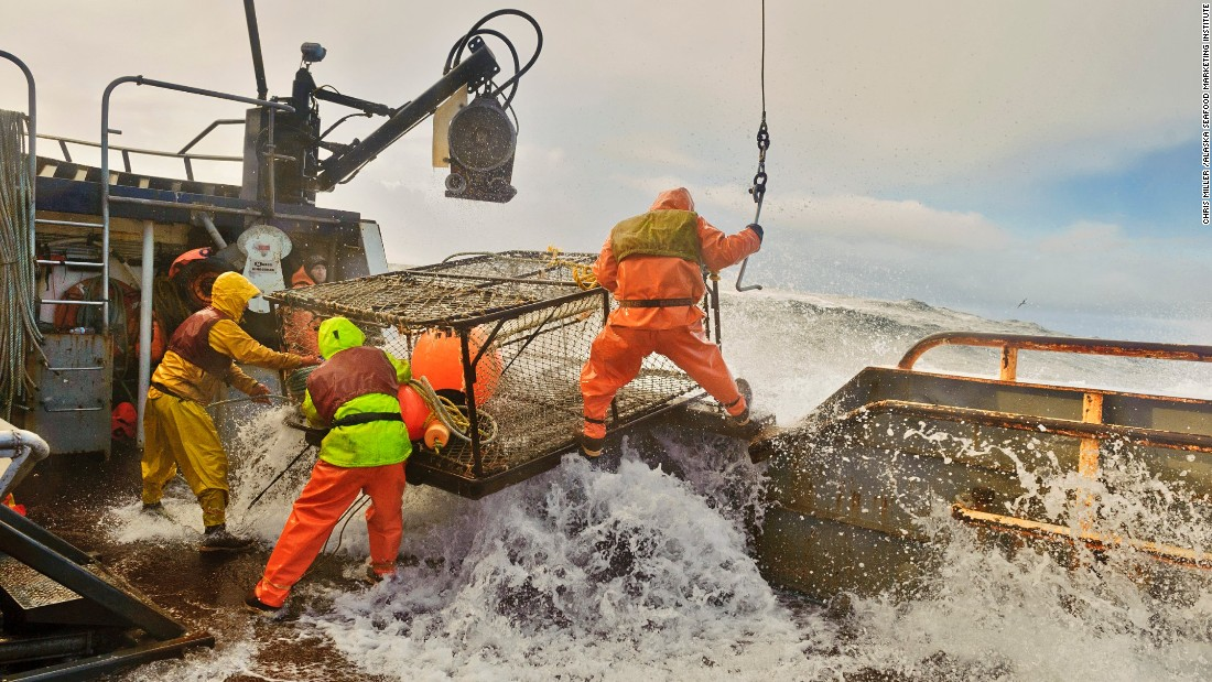 The ice road truckers putting alaska on the trade map for Bering sea fishing