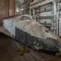 baikonur cosmodrome kazakhstan societ space shuttle front view