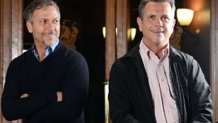 Fernando (R) and Humberto Campana