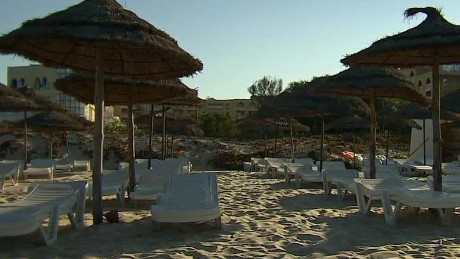 Survivors of Tunisia terror attack remain at hotel - CNN Video