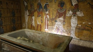 Inside the boy king's tomb