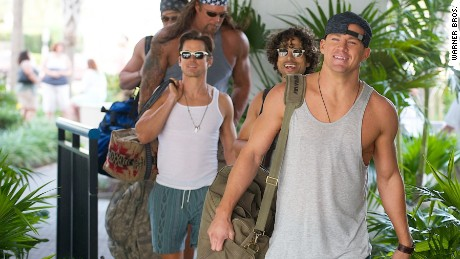 Matthew Bomer, Channing Tatum and Joe Manganiello in Warner Bros. Pictures' Magic Mike XXL