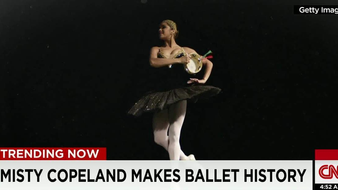 Misty Copeland Dances Her Way To Ballet History
