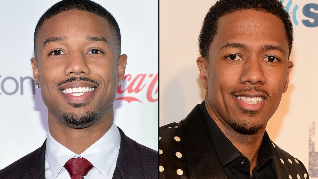 Left: Michael B. Jordan, right: Nick Cannon