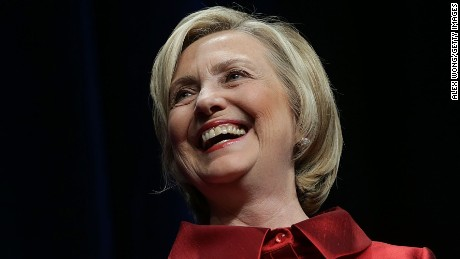 Democratic U.S. presidential hopeful and former U.S. Secretary of the State Hillary Clinton speaks during the Democratic Party of Virginia Jefferson-Jackson dinner June 26, 2015 at George Mason University's Patriot Center in Fairfax, Virginia.