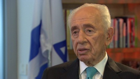 Exclusive interview with former Israeli President Shimon Peres