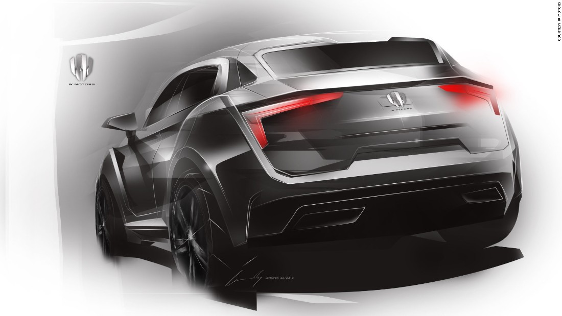 Lykan Hypersport Car >> W Motors: The world's first Arab supercar manufacturer - CNN.com