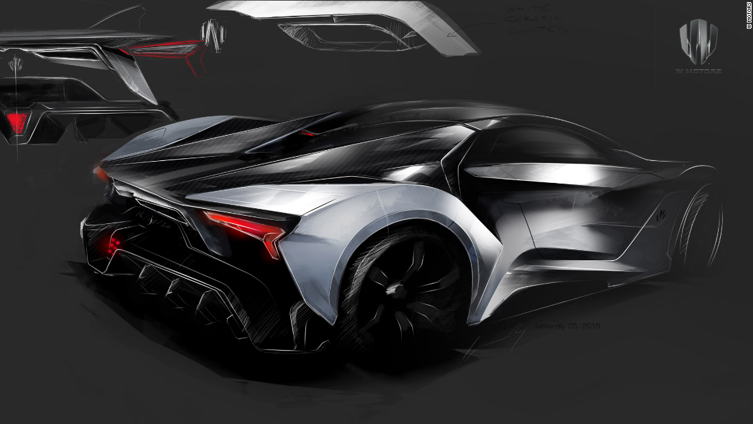 W Motors The World 39 S First Arab Supercar Manufacturer