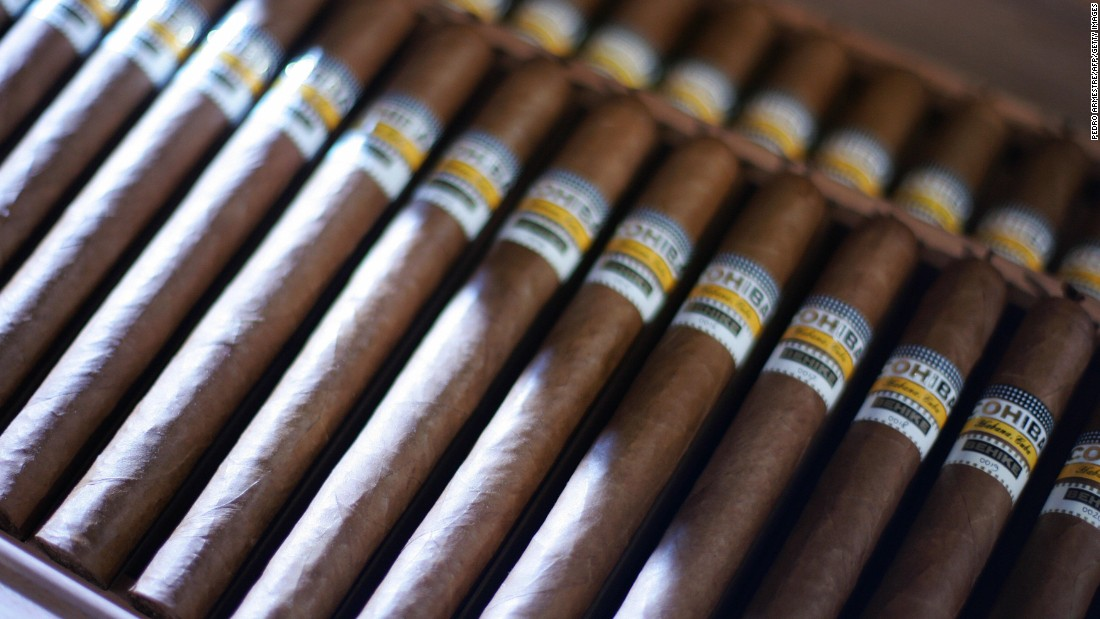 Limits lifted on Cuban cigars in the US