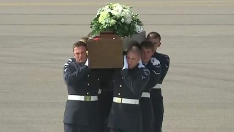 british victims arrive home dnt foster wrn _00002825