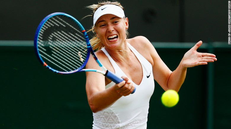 Wimbledon 2015: Maria Sharapova wins amid record heat