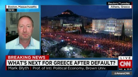Greece sinks into default_00045106