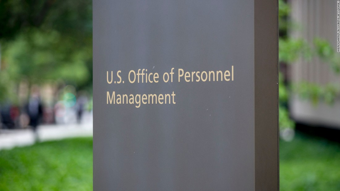The Office of Personnel Management, or OPM, handles federal job postings, background checks for employees and administers health insurance and pension benefits.