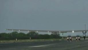 Solar Impulse 2 makes history