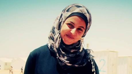 Syrian teen helps keep refugee children in school