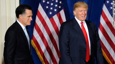 Mitt Romney comments on Donald Trump
