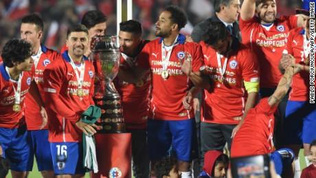 Chile beats Argentina to won Copa America...