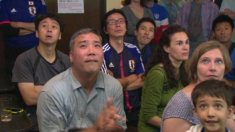 Japanese fans react to Women's World Cup loss