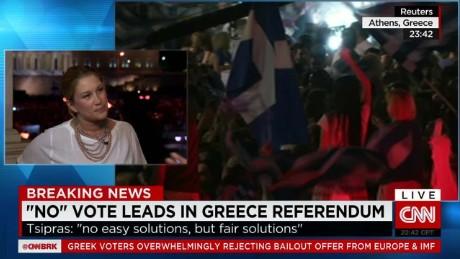 No vote leads in Greek referendum_00015819