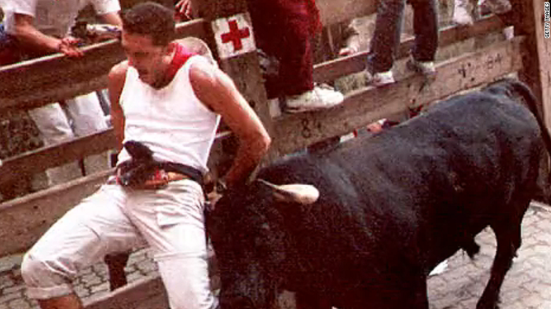 Running of the bulls kicks off