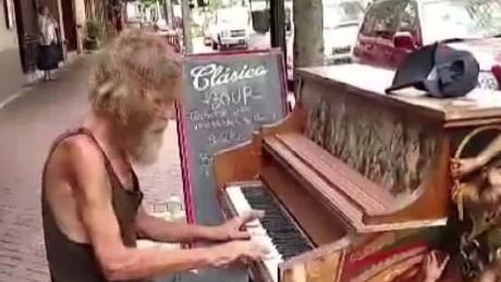 Homeless Piano Player Good Stuff NewDay_00001625