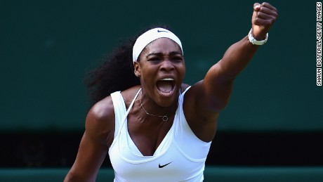 Williams beats Sharapova to advance to Wimbledon final