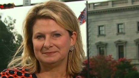 Lawmaker gets emotional after Confederate flag decision
