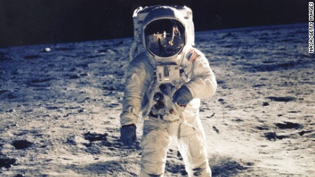 Astronaut Edwin E. Aldrin Jr., Lunar Module Pilot, Is Photographed Walking Near The Lunar Module During The Apollo 11 Extravehicular Activity. Man's First Landing On The Moon Occurred Today At 4:17 P.M. July 20, 1969 As Lunar Module 'Eagle' Touched Down Gently On The Sea Of Tranquility On The East Side Of The Moon. The Lm (Lunar Module) Landed On The Moon On July 20, 1969 And Returned To The Command Module On July 21. The Command Module Left Lunar Orbit On July 22 And Returned To Earth On July 24, 1969. Apollo 11 Splashed Down In The Pacific Ocean On 24 July 1969 At 12:50:35 P.M. Edt After A Mission Elapsed Time Of 195 Hrs, 18 Mins, 35 Secs.
