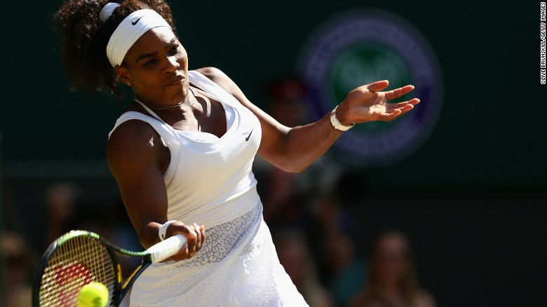 Serena Williams wins sixth Wimbledon singles title