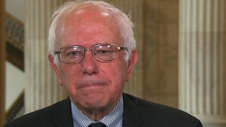 Bernie sanders takes on clinton bush
