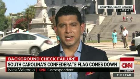 confederate flag, fbi background check fallout Valencia live lead_00004628