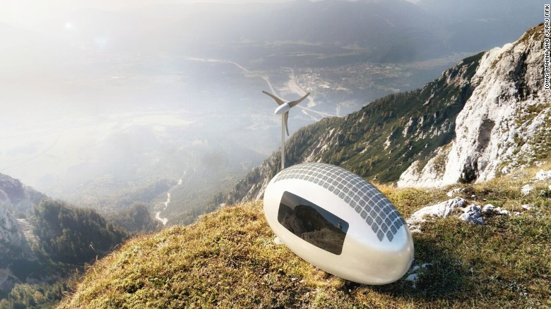 The Ecocapsule offers a radical alternative to conventional housing, and can be situated in the most remote locations on earth.
