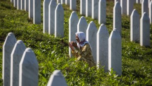 Remembering the victims of the Srebrenica massacre